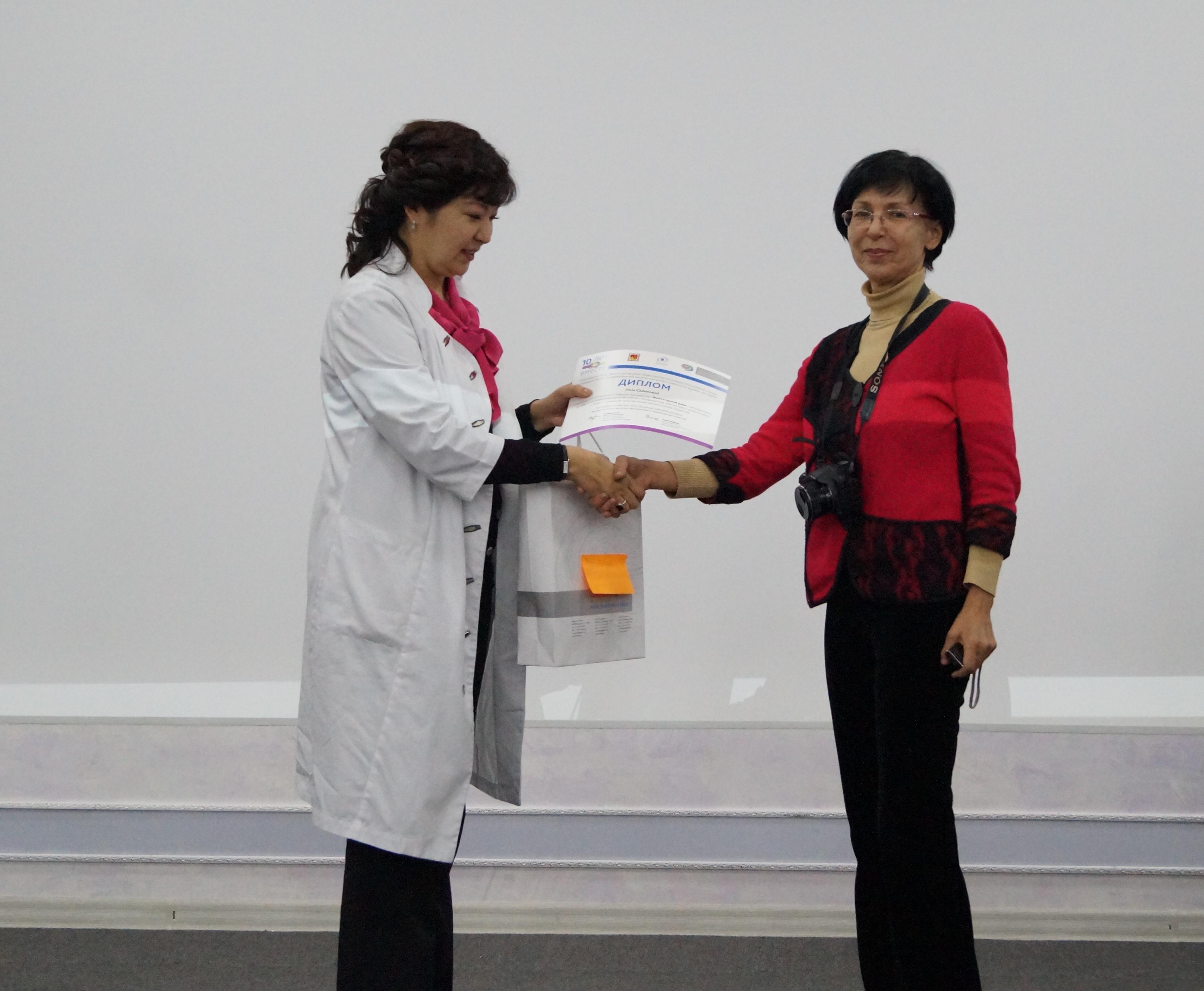 Результаты конкурса КазНИИОиР и ОФ «Вместе против рака» среди СМИ