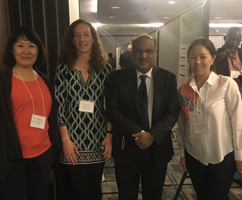 Сотрудники КазНИИОиР приняли участие в Ежегодном Симпозиуме по Глобальному Изучению Рака в Нью-Йорке, США