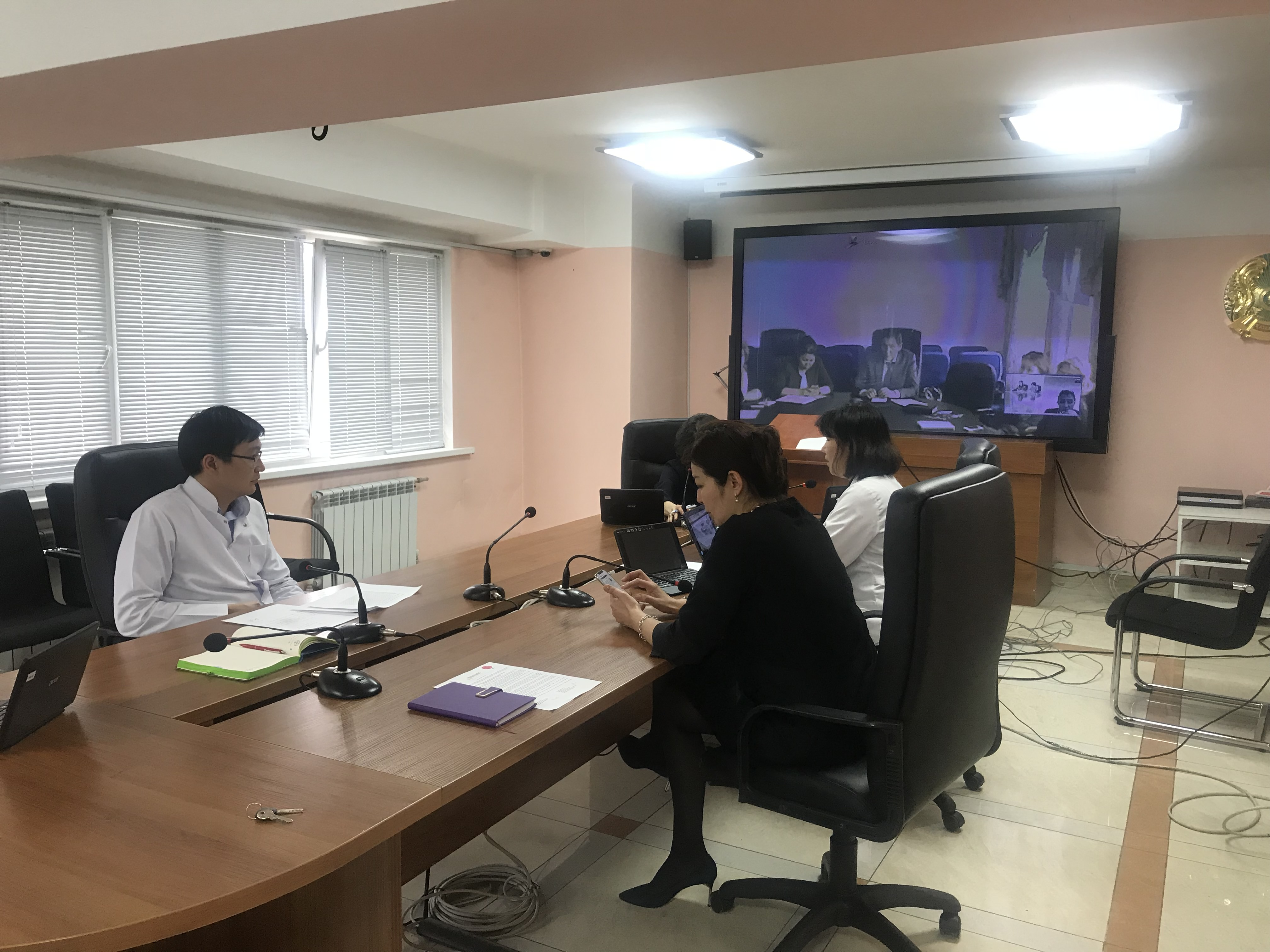 КазНИИОиР провел видео-конференцию с Университетом Хачетэп (Haceteppe University), Турция и Министерством Здравоохранения РК