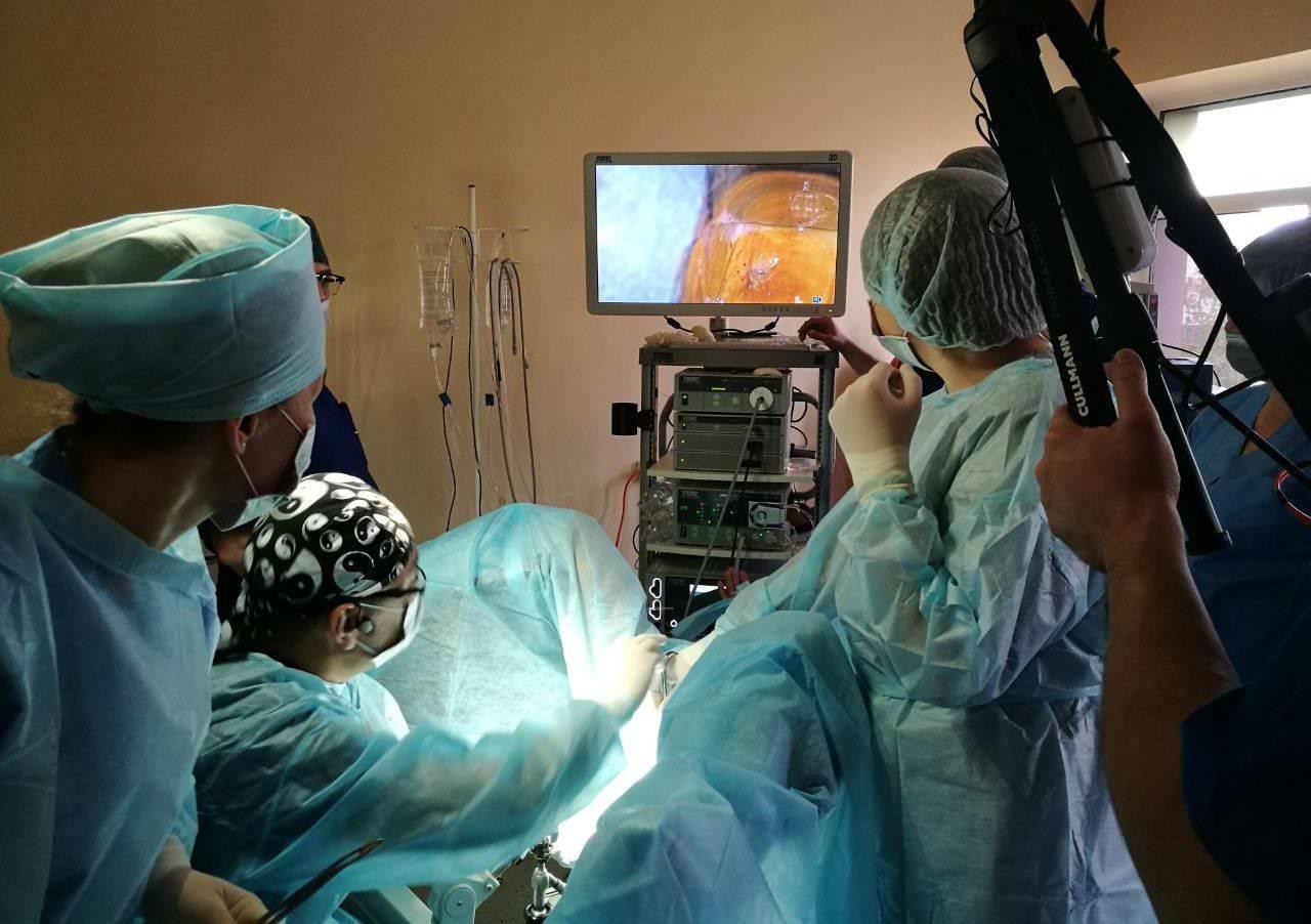 Школа по эндоскопической гинекологии проходит в Шымкенте