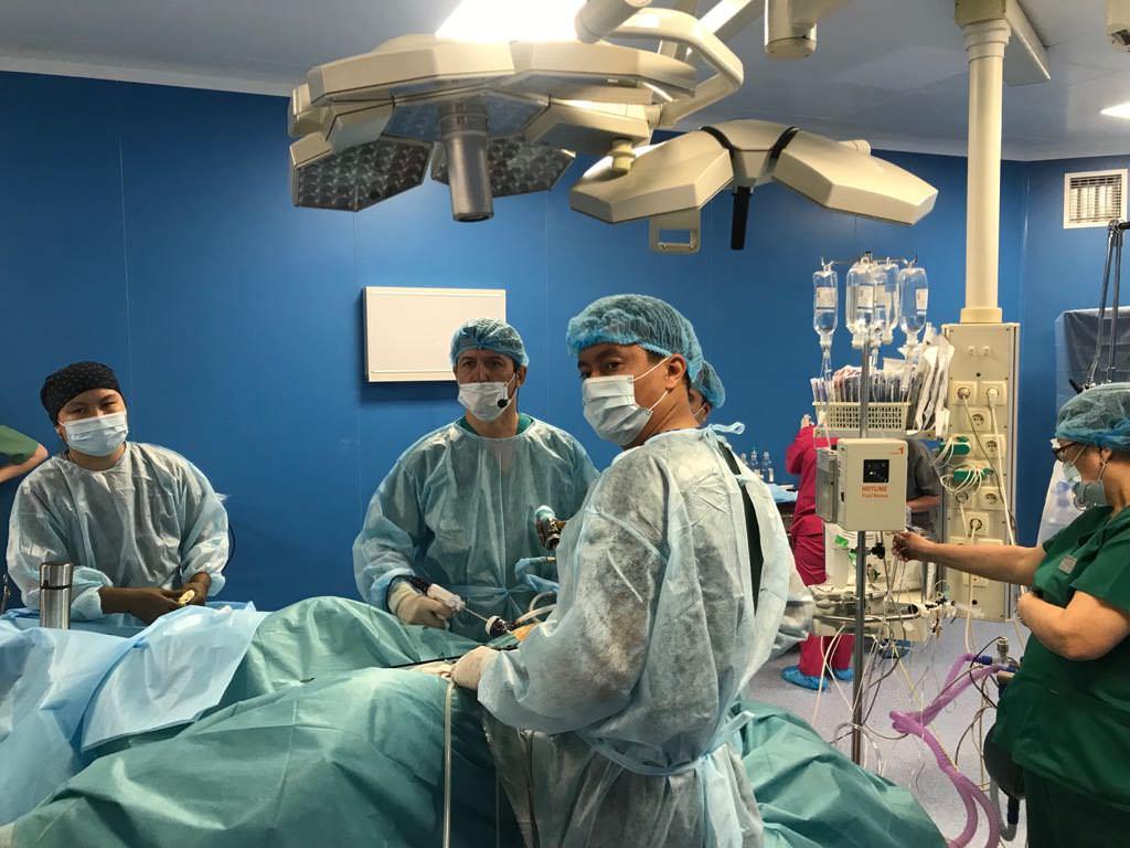 Мастер-класс «Малоинвазивная хирургия прямой кишки» для абдоминальных хирургов в КазНИИОиР
