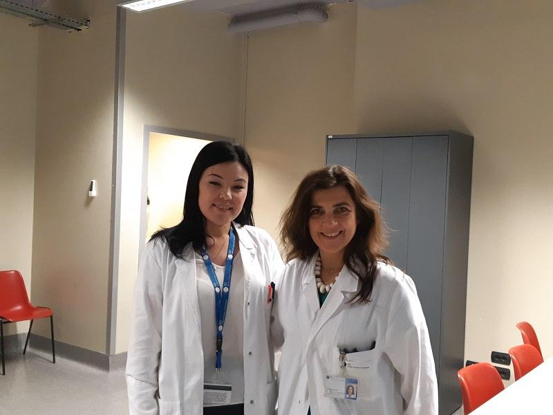 Стажировка врача-онкомаммолога КазНИИОиР в European Institute Of Oncology (IEO)