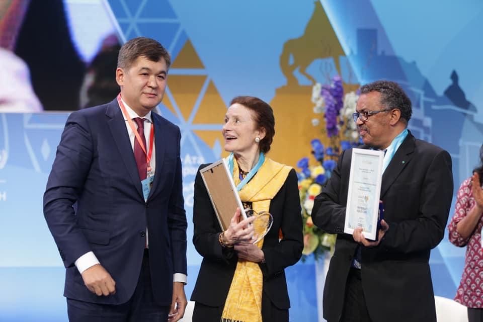 Обращение министра здравоохранения РК Е.А. Биртанова по итогам Глобальной Конференции по ПМСП в Астане