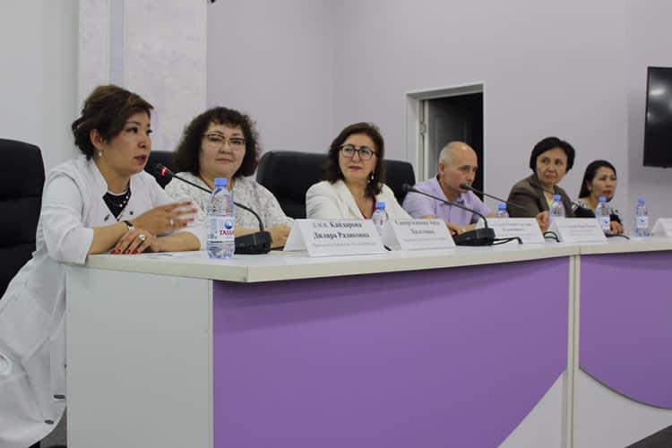 Мастер-класс «Брахитерапия внутриглазных новообразований» в КазНИИОиР.