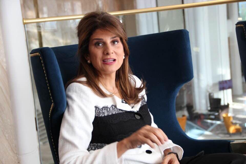 Встреча Президента UICC, Принцессы Иордании Дины Майред с казахстанскими СМИ