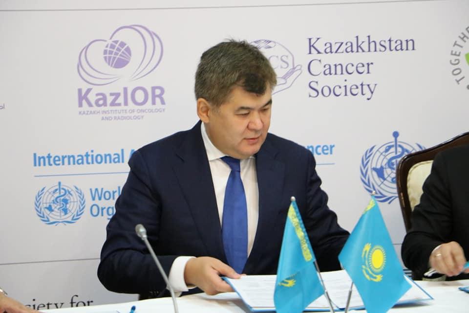 Казахстанские медики будут перенимать инновационный опыт у ведущих европейских компаний по лечению онкозаболеваний