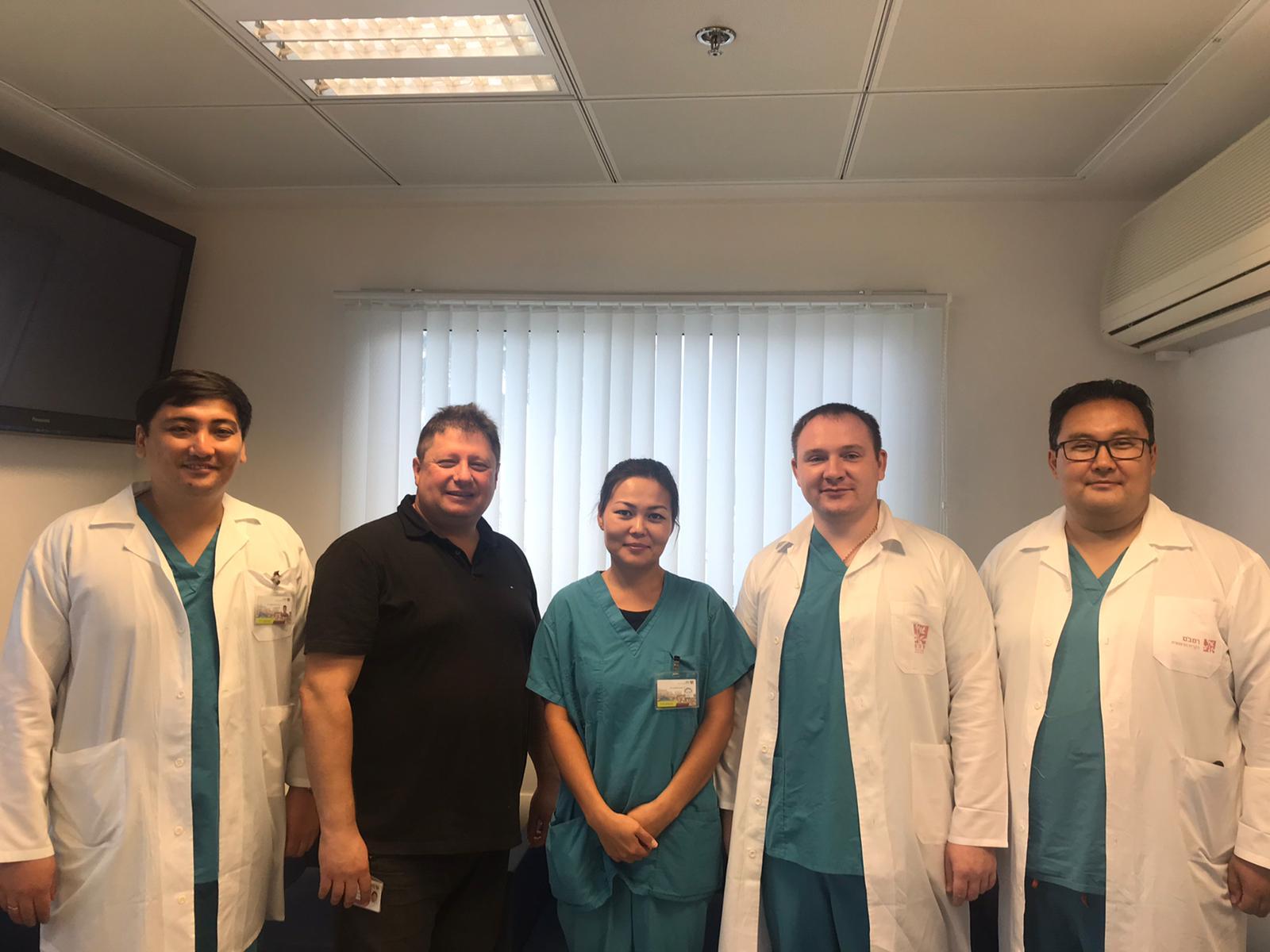 Врачи-онкологи Центра ядерной медицины и онкологии города Семей прошли 4-месячную стажировку в ведущей клинике Израиля