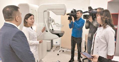 Казахстанские женщины получили возможность знать о раке прежде, чем он будет представлять смертельную угрозу