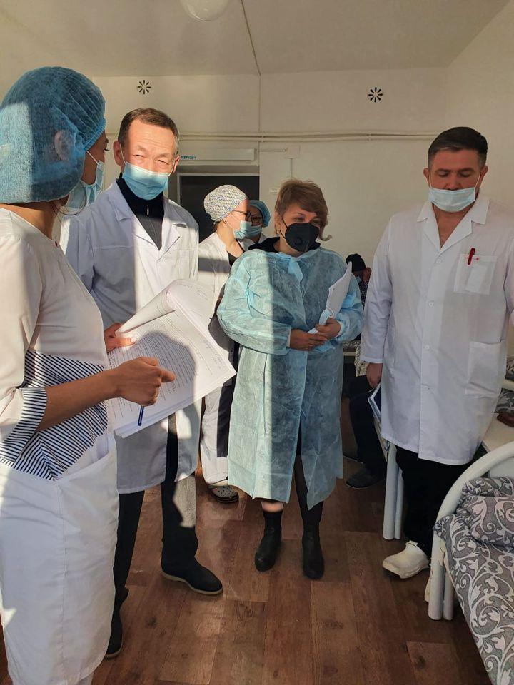 Специалисты КазНИИОиР выехали в Атыраускую область