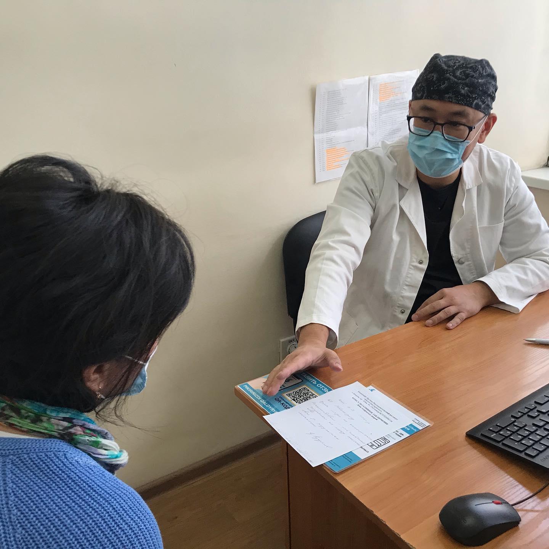 Сегодня в Казахском НИИ онкологии и радиологии и в региональных онкодиспансерах провели День открытых дверей. Приём вели ведущие онкогинекологи Казахстана