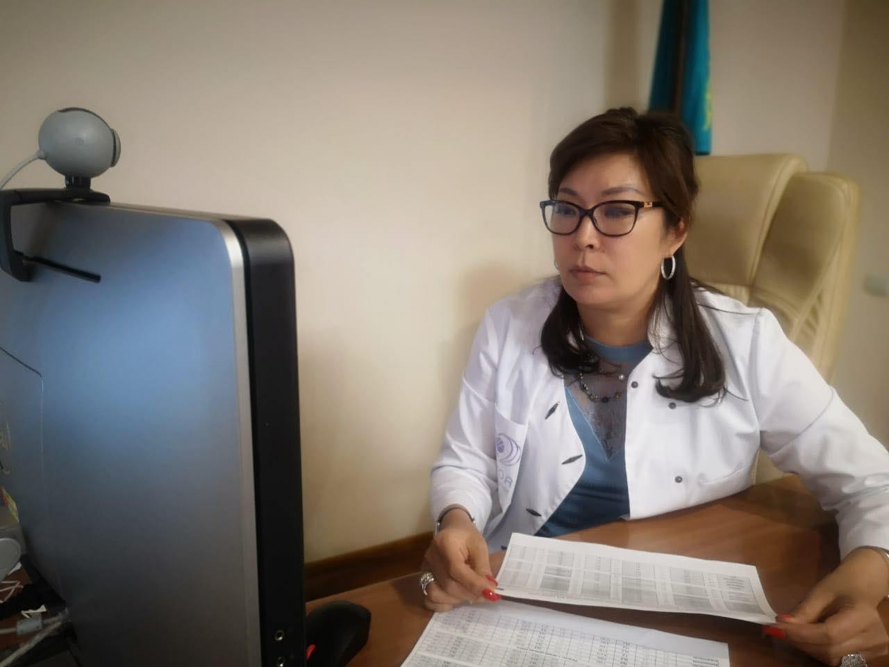 Координационный совет по онкологическим заболеваниям под председательством вице-министра здравоохранения Ажар Гиният