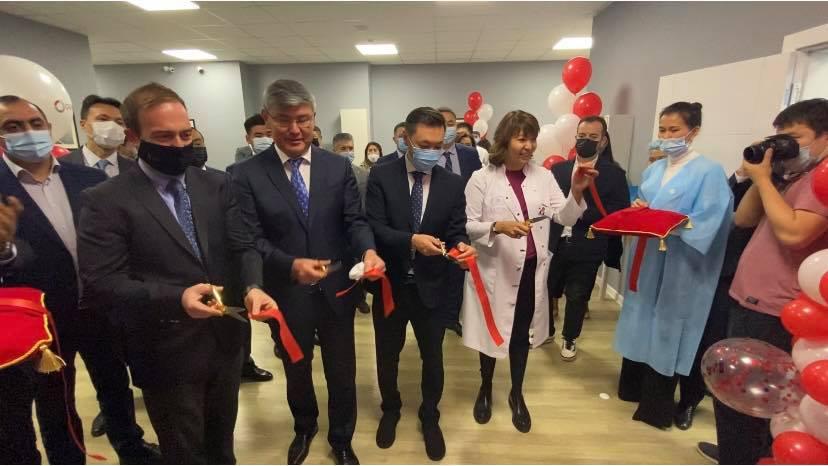 Открытие Центра томотерапии в КазНИИ онкологии и радиологии