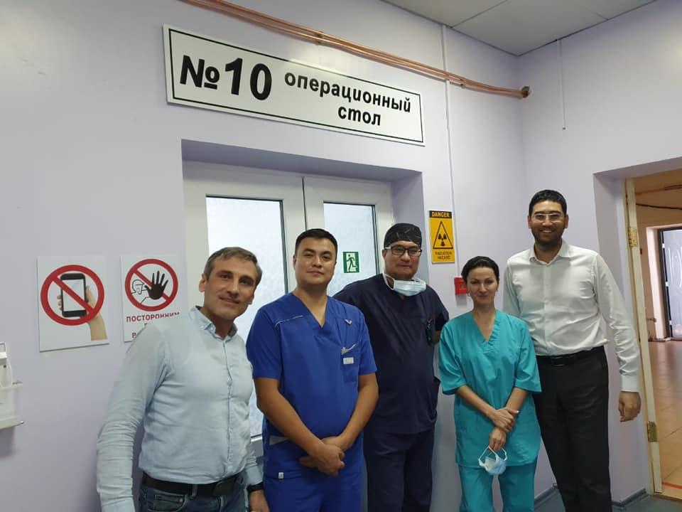 В рамках VIII Съезда онкологов и радиологов Казахстана начались мастер-классы, которые проводятся на базе КазНИИ онкологии и радиологии